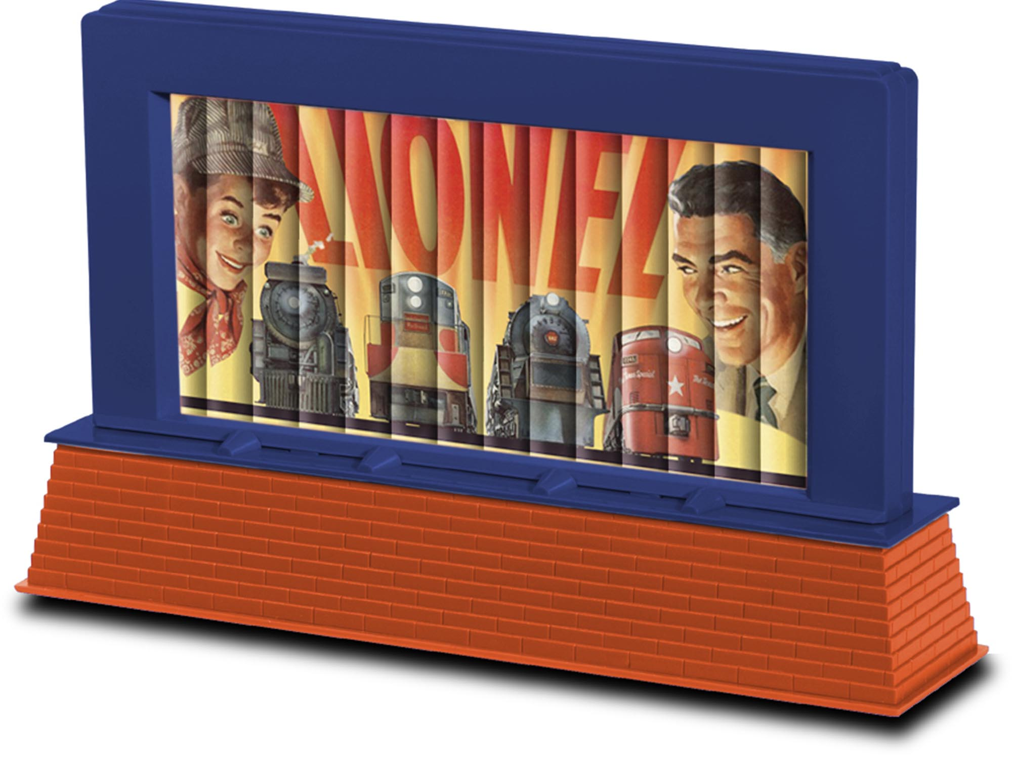 6-82017 LIONEL ART OPERATING BILLBOARD