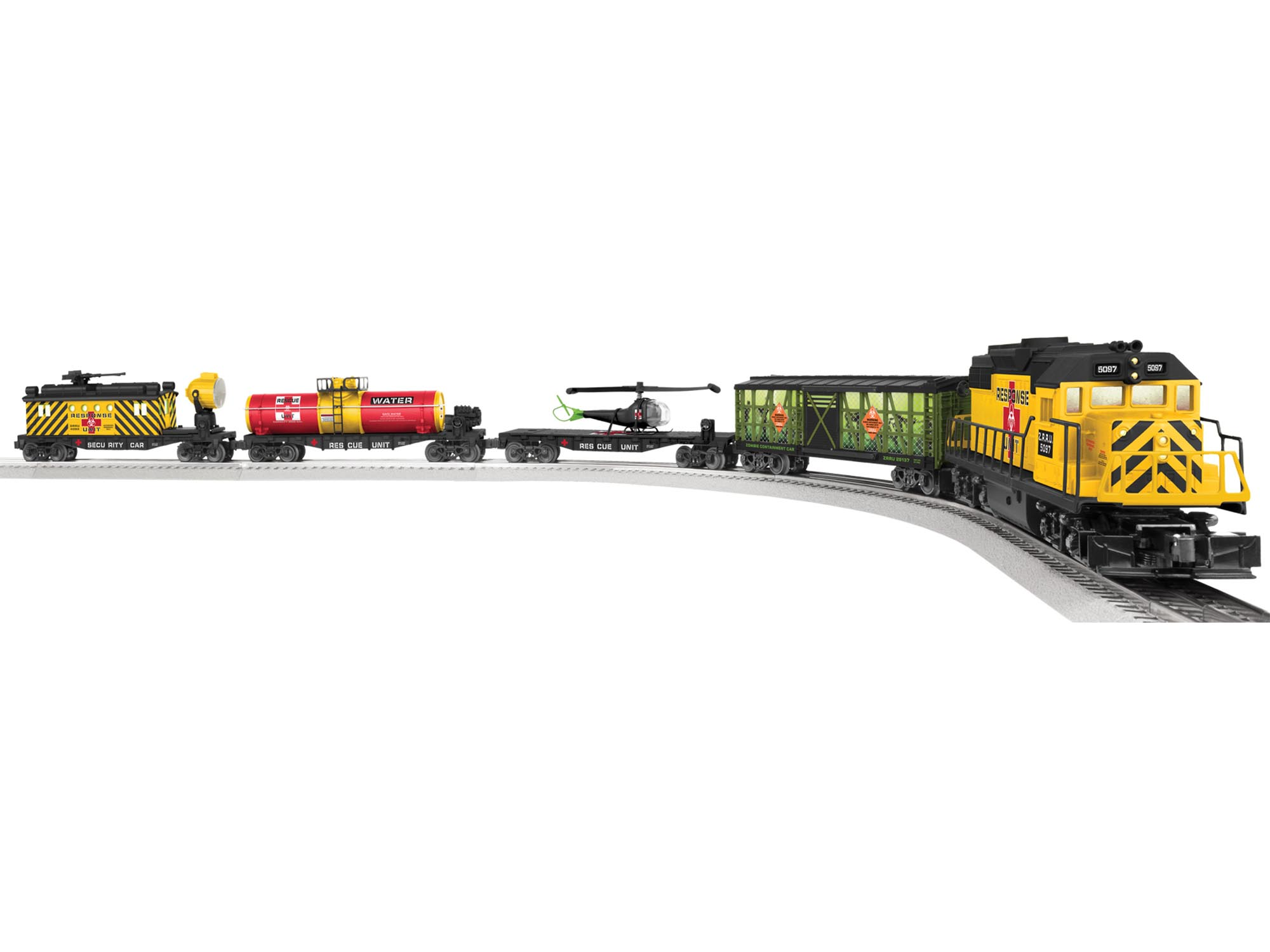 6-82099 ZOMBIE APOCALYPSE GP38 LIONCHIEF READY-TO-RUN SET