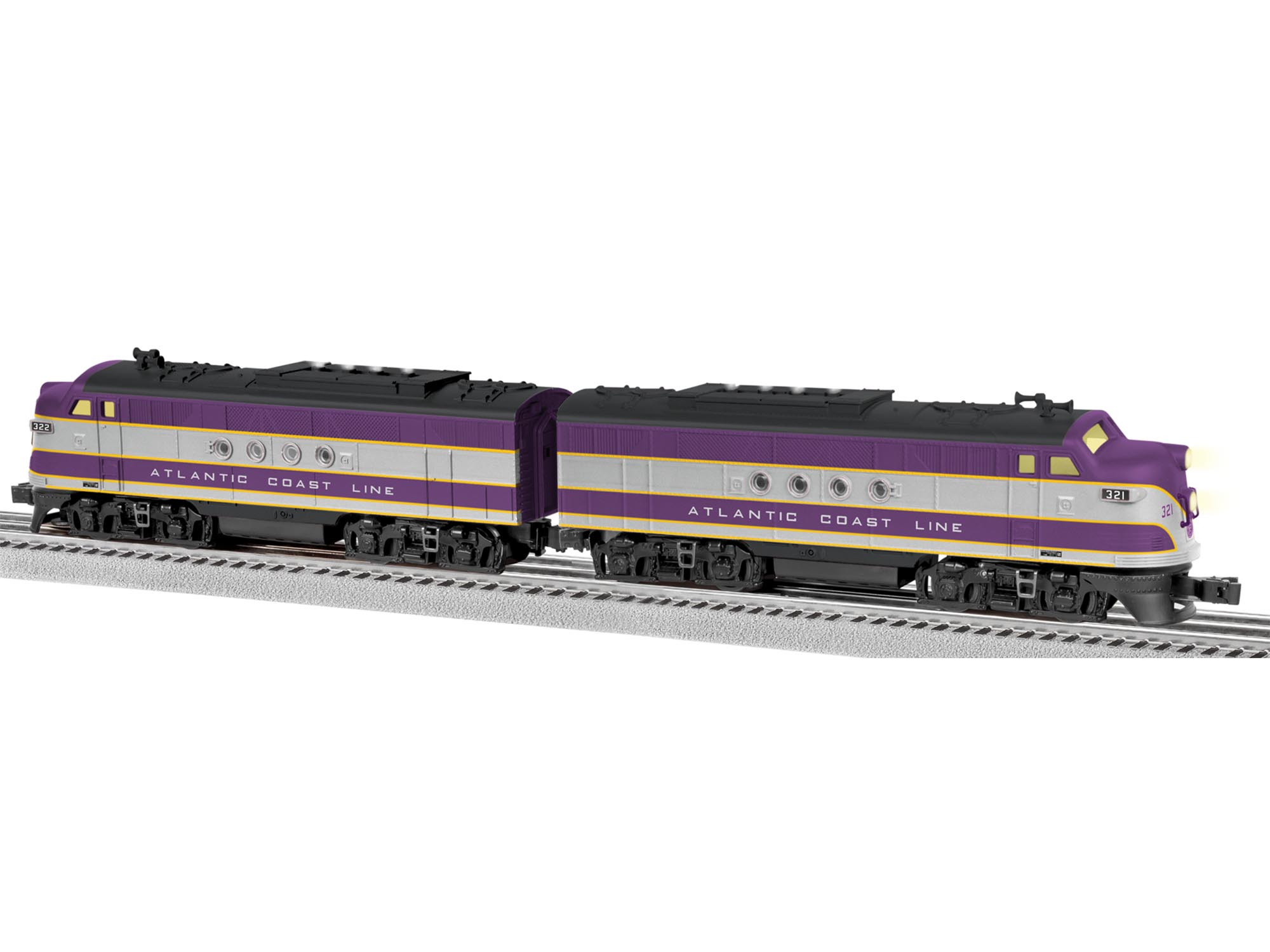 6-82293 ATLANTIC COAST LINE LIONCHIEF™ PLUS FT AA DIESELS #321