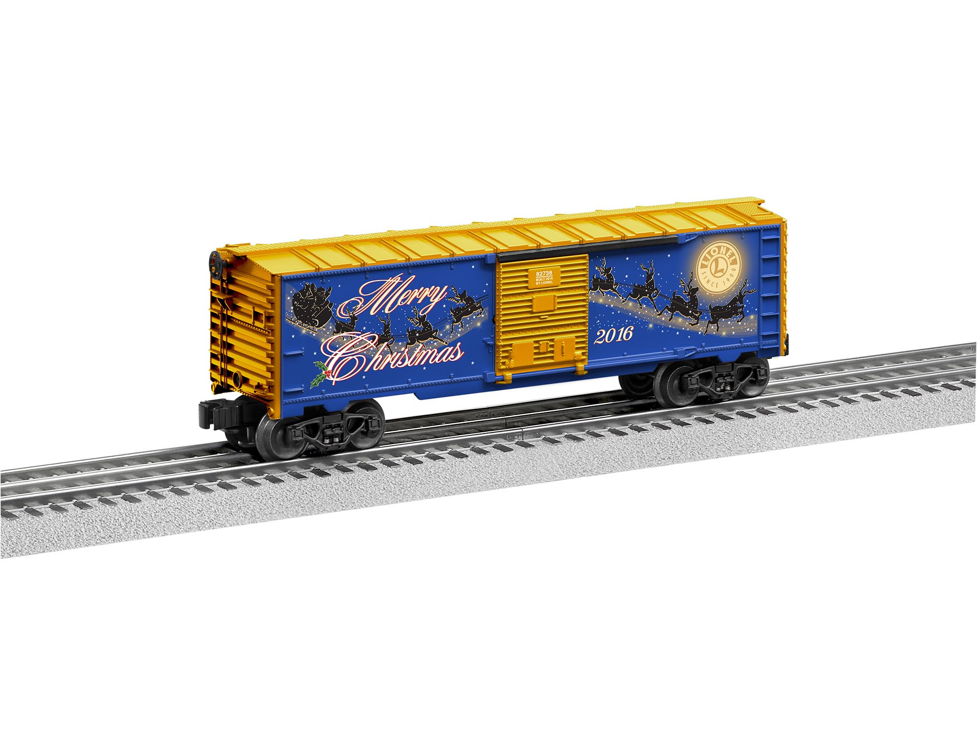 6-82954 2016 LIONEL CHRISTMAS BOXCAR