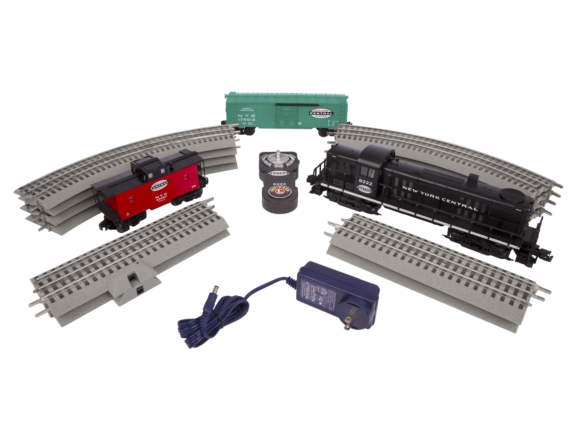 6-82984 NEW YORK CENTRAL RS-3 LIONCHIEF™ TRAIN SET