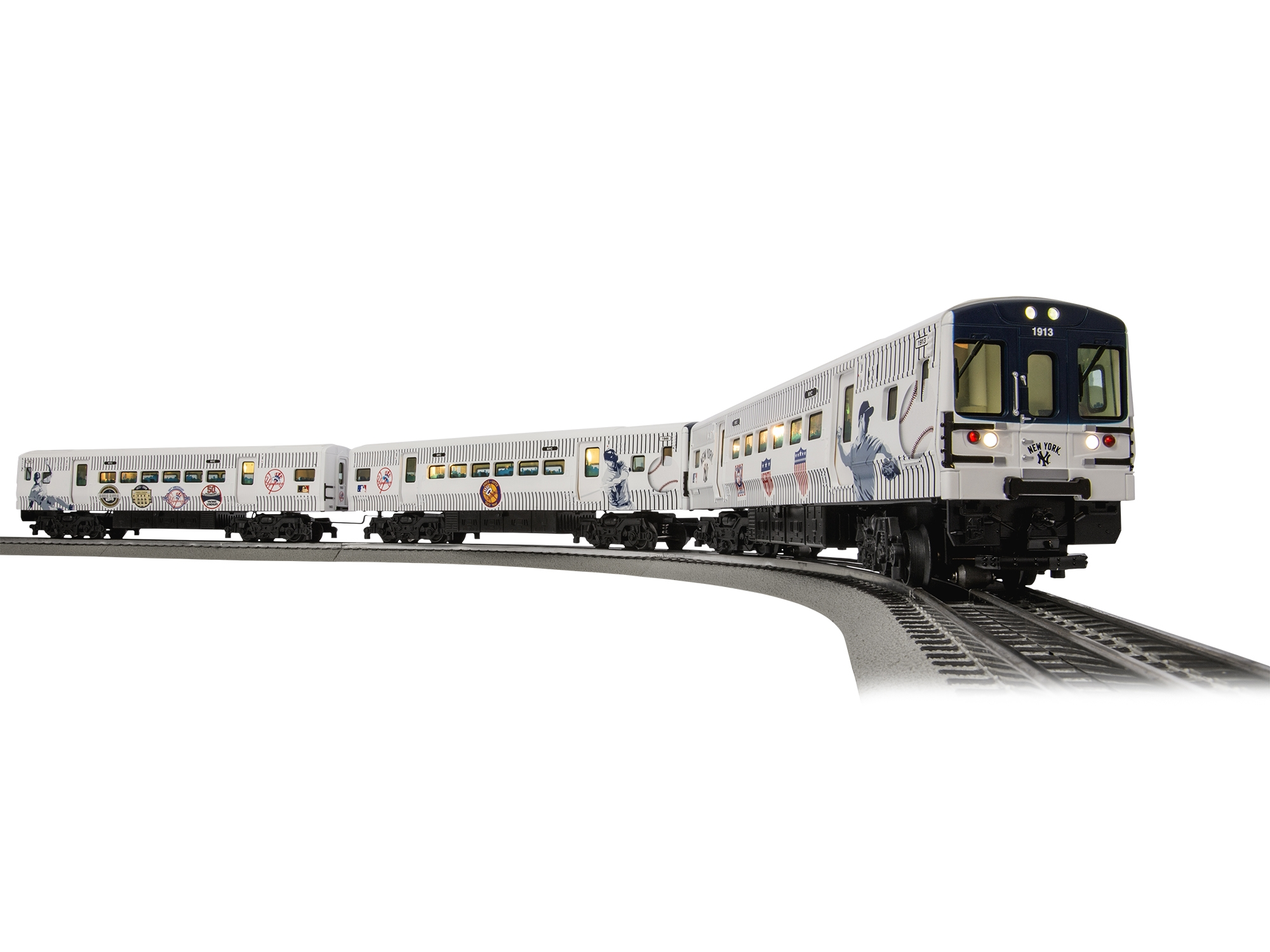6-83468 MLB® NEW YORK YANKEES™ LIONCHIEF™ SUBWAY TRAIN SET