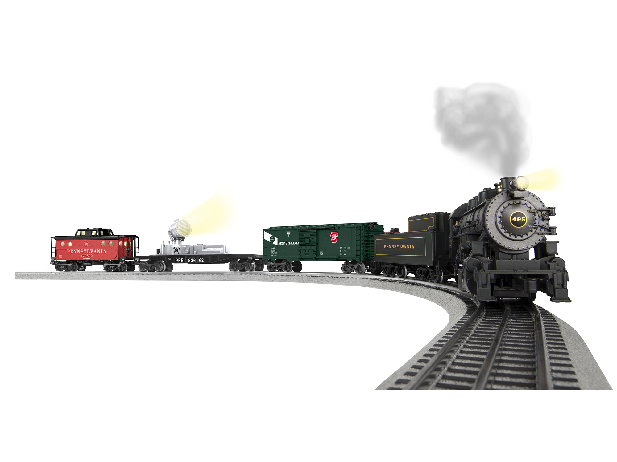 "6-83659 PENNSYLVANIA ""KEYSTONE SPECIAL"" LIONCHIEF™ TRAIN SET"