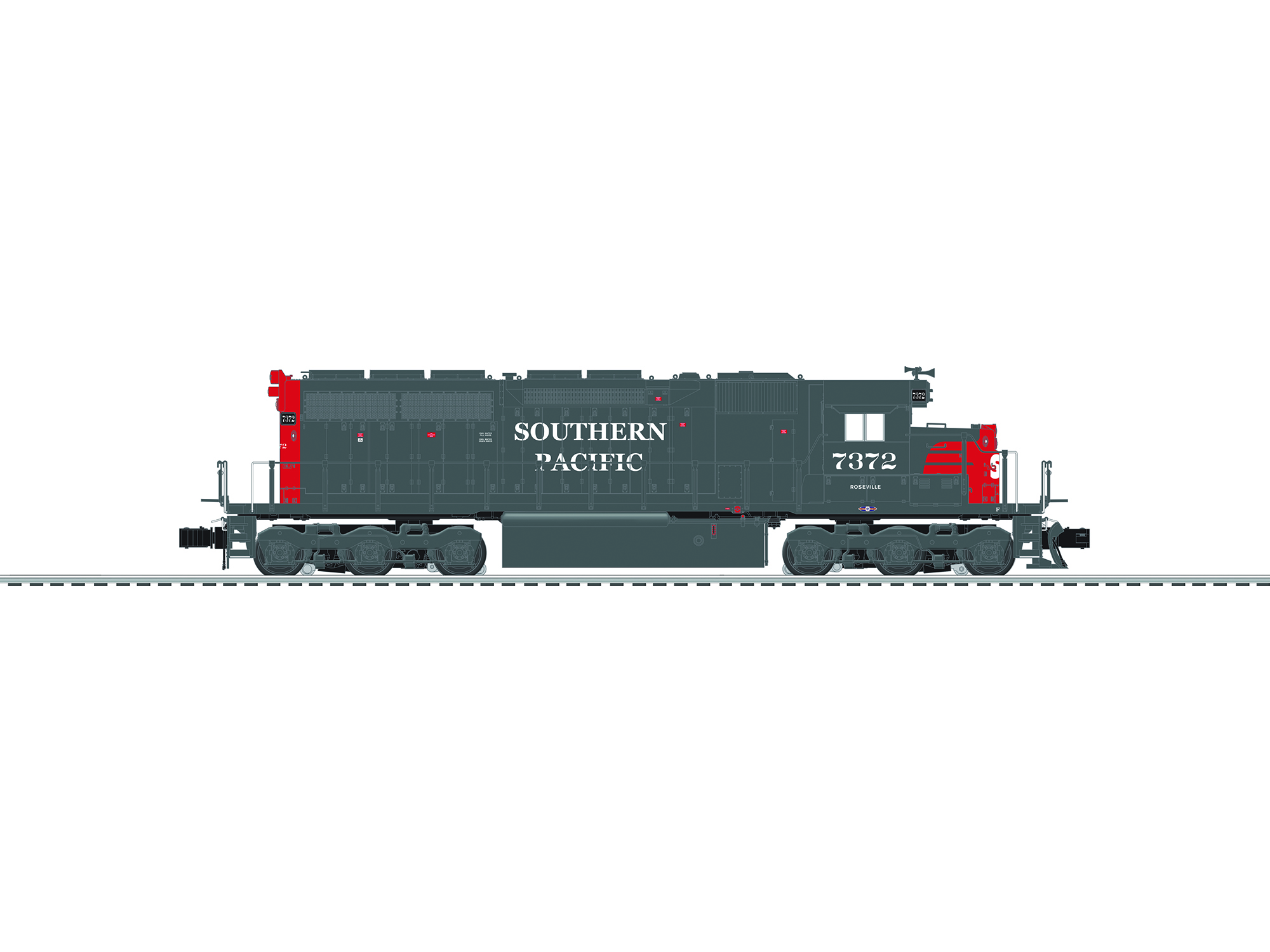 6-84267 SOUTHERN PACIFIC SD40R #7372