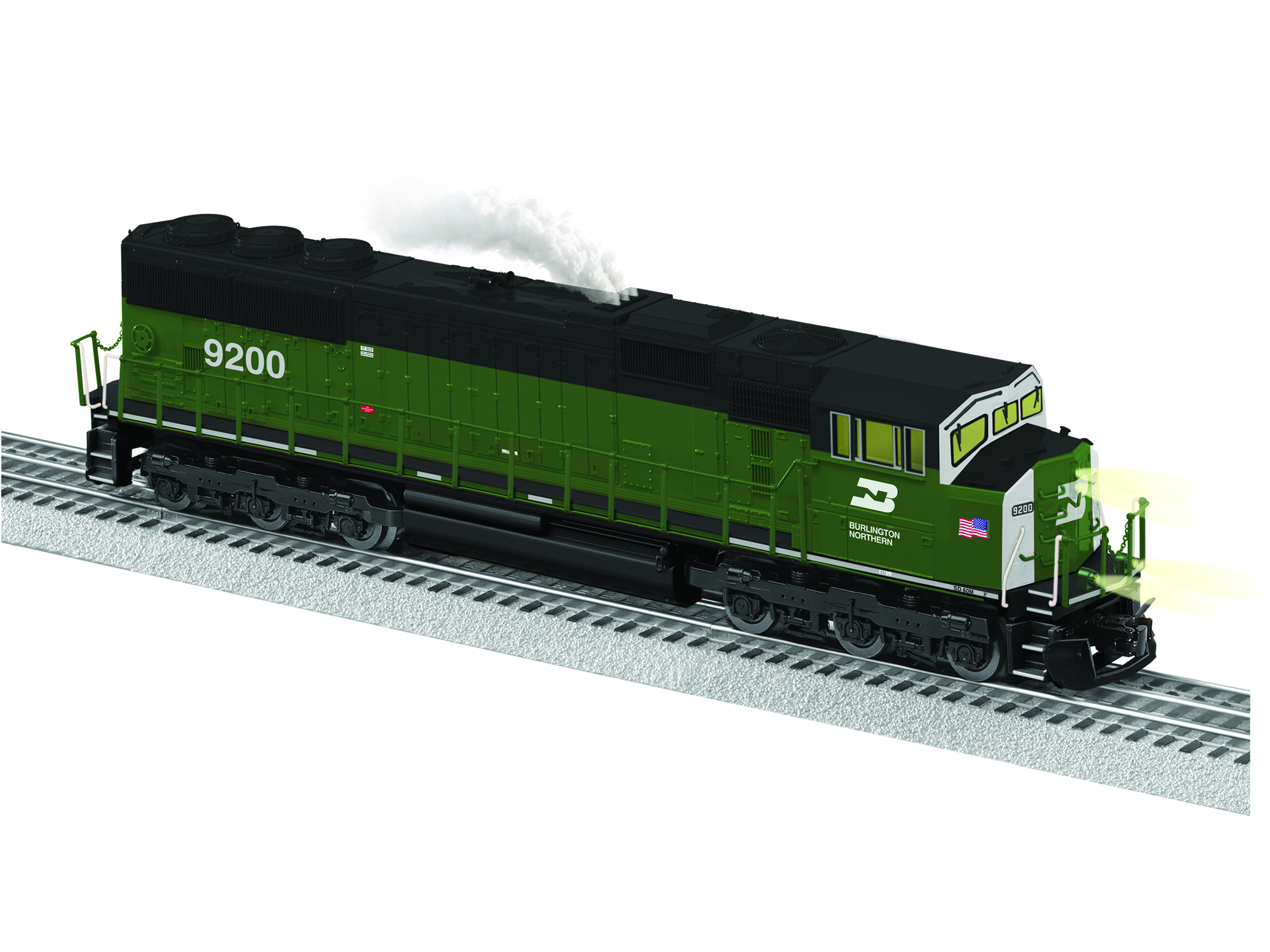 6-84401 BURLINGTON NORTHERN SD60M #9200