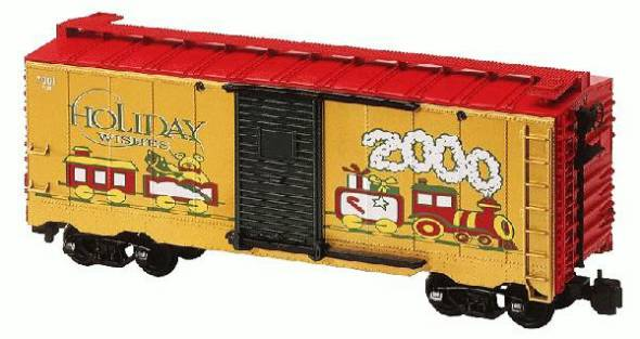 8-87018 2000 Holiday Christmas Boxcar Lionel Large Scale