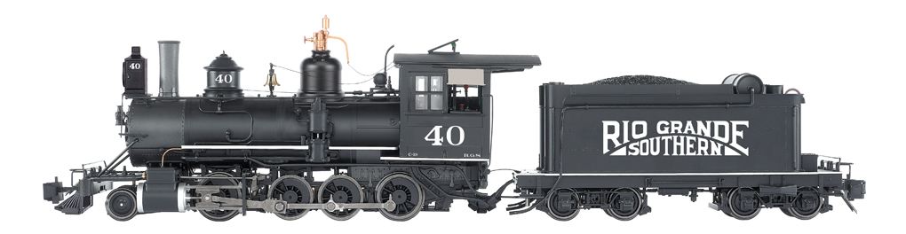 RGS #40 - Sunrise Herald - C-19 w/ Short Tender (G Scale)
