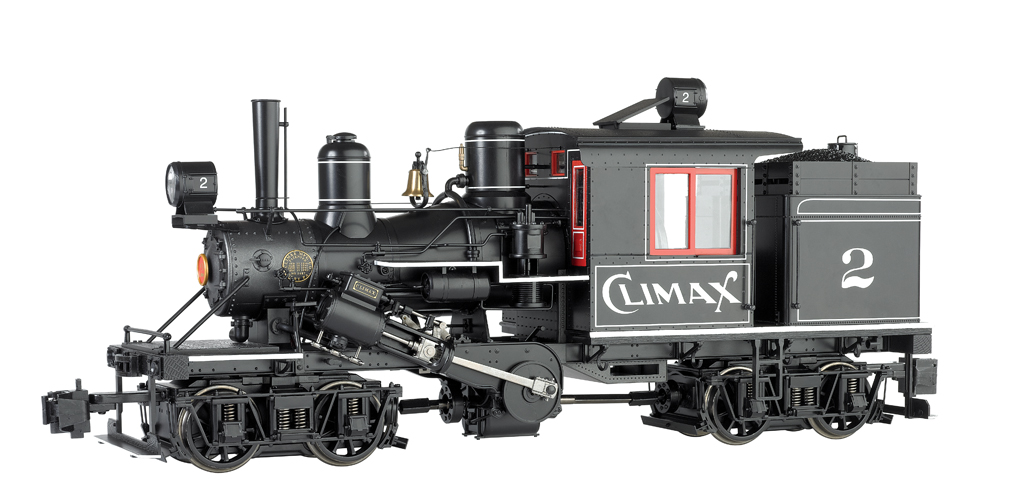 Climax #2 (Demonstrator) - Two-Truck Climax (G Scale)