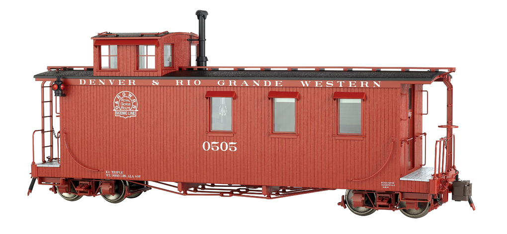 D&RGW™ #0505 - Long Caboose (Large Scale)