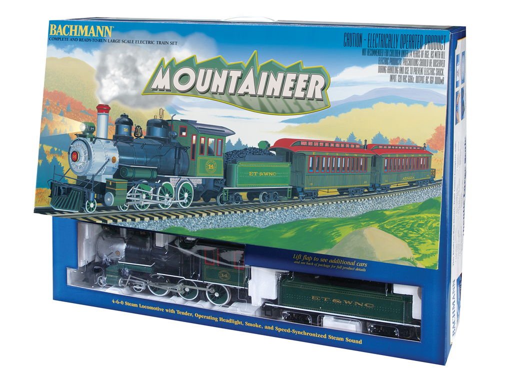 The Mountaineer Set (G Scale) [BAC90048] - $525 00 : Star