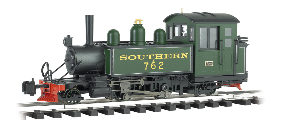 Lyn - Southern (green, yellow, & black) -2-4-2 Locomotive (G)