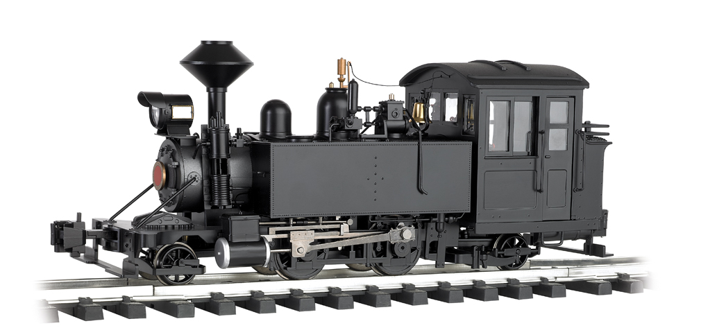 Unlettered - Black -2-4-2 Locomotive (G Scale)