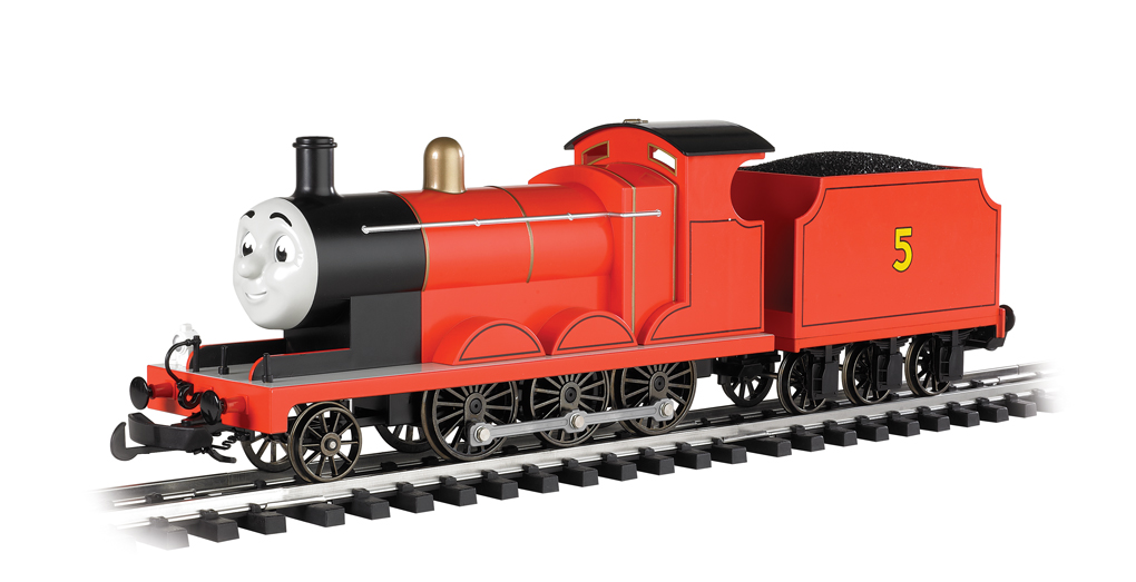 James the Red Engine - with moving eyes (G Scale)