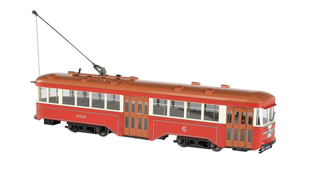 Chicago Surface Lines - 1:29 Peter Witt Streetcar (G Scale)