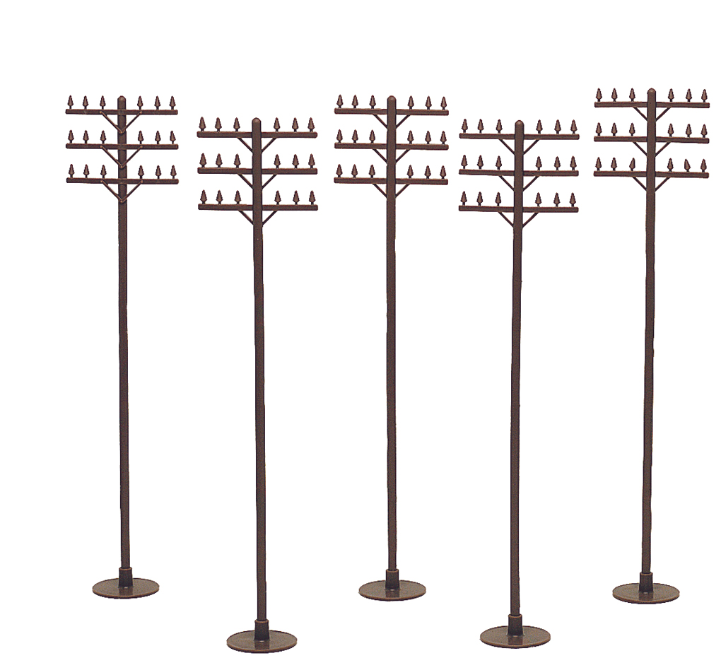 Telephone Poles (12 per pack)
