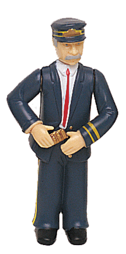 Conductor with Blue Uniform (Large Scale)