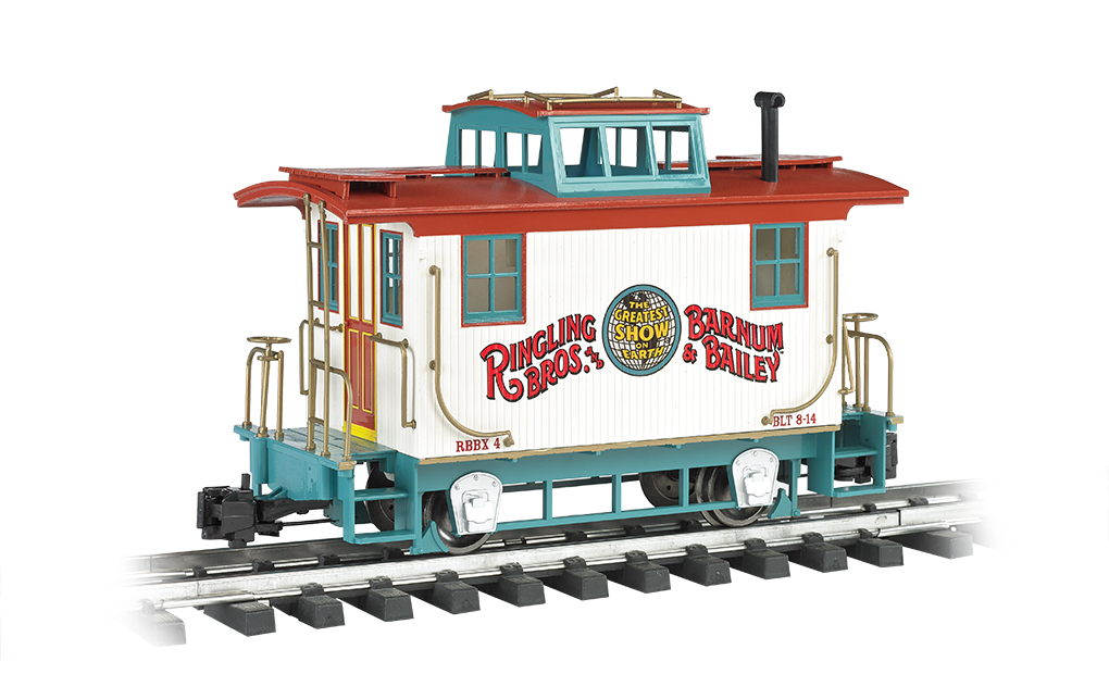 RINGLING BROS. AND BARNUM & BAILEY™ - Bobber Caboose (G Scale)