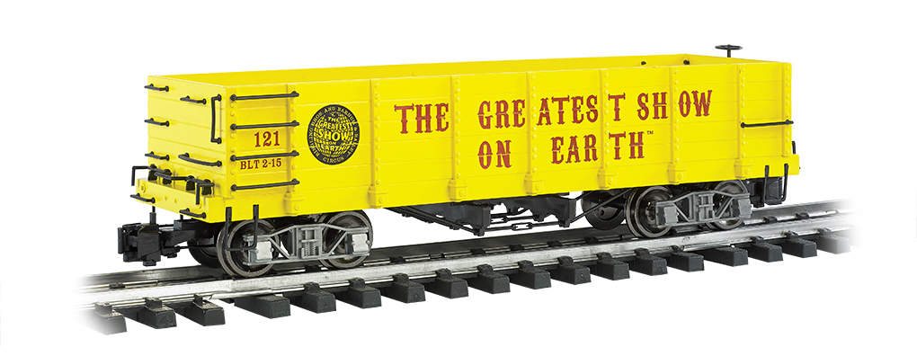 RINGLING BROS. AND BARNUM & BAILEY™ - Gondola #121 (G Scale)