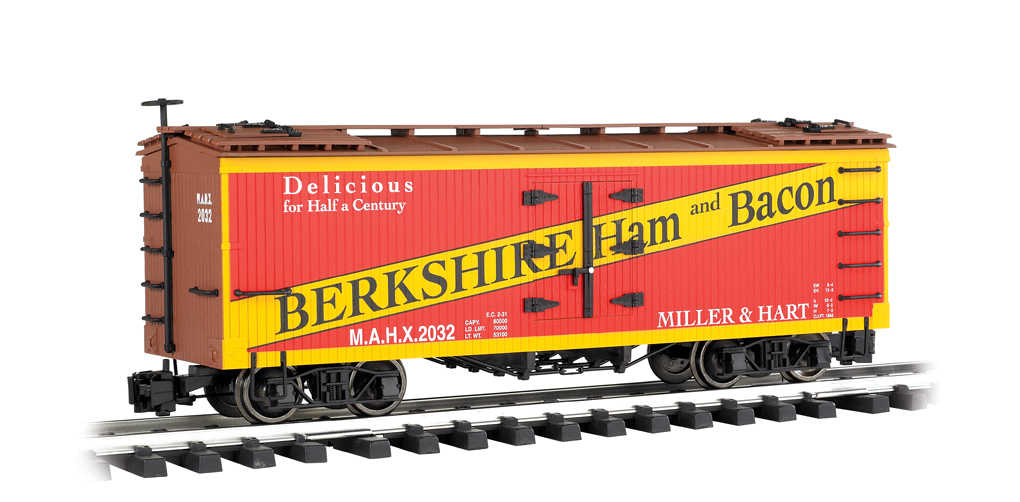Berkshire Ham & Bacon - Billboard Reefer