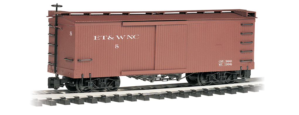 East Tennessee & Western North Carolina - Box Car