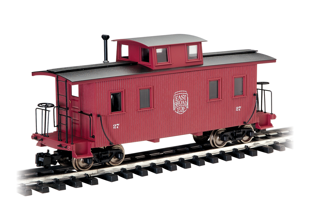 East Broad Top - Eight-Wheel Center Cupola Caboose (Large Scale)