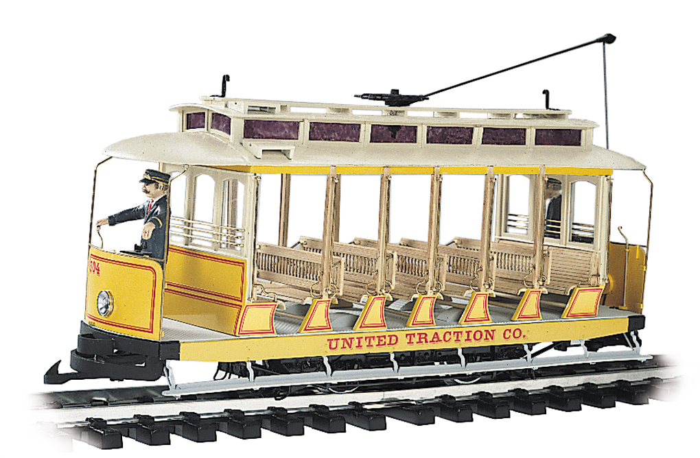 United Traction Co. - Open Streetcar (G Scale)