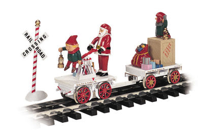 Christmas Hand Car (G Scale)