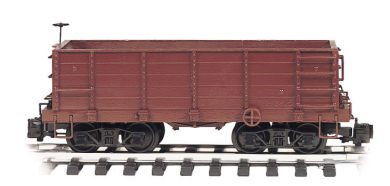 Painted Unlettered - Wood Ore Car (G Scale)
