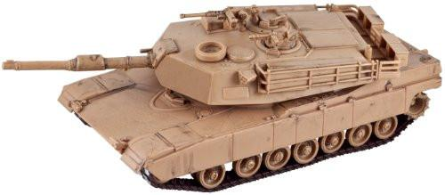 Modern Tank Battery-Operated Model Kit - M1A1 Abrams