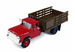 1960 Ford Stake Bed Truck, Monte Carlo Red