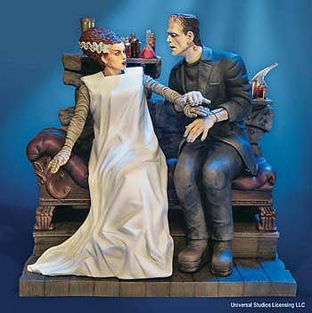 1/8 Scale The Bride of Frankenstein Plastic Model Kit