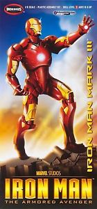 1/8 Scale Iron Man Mark III The Armored Avenger Model Kit