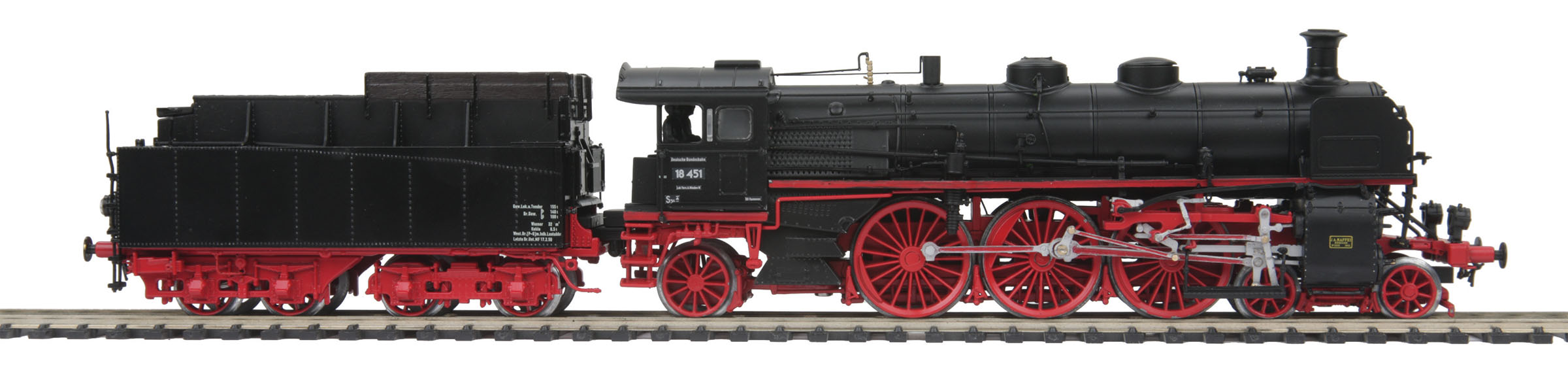 HO Scale MTH HO Class 18.4 Steam Locomotive w/Proto-Sound 3.0