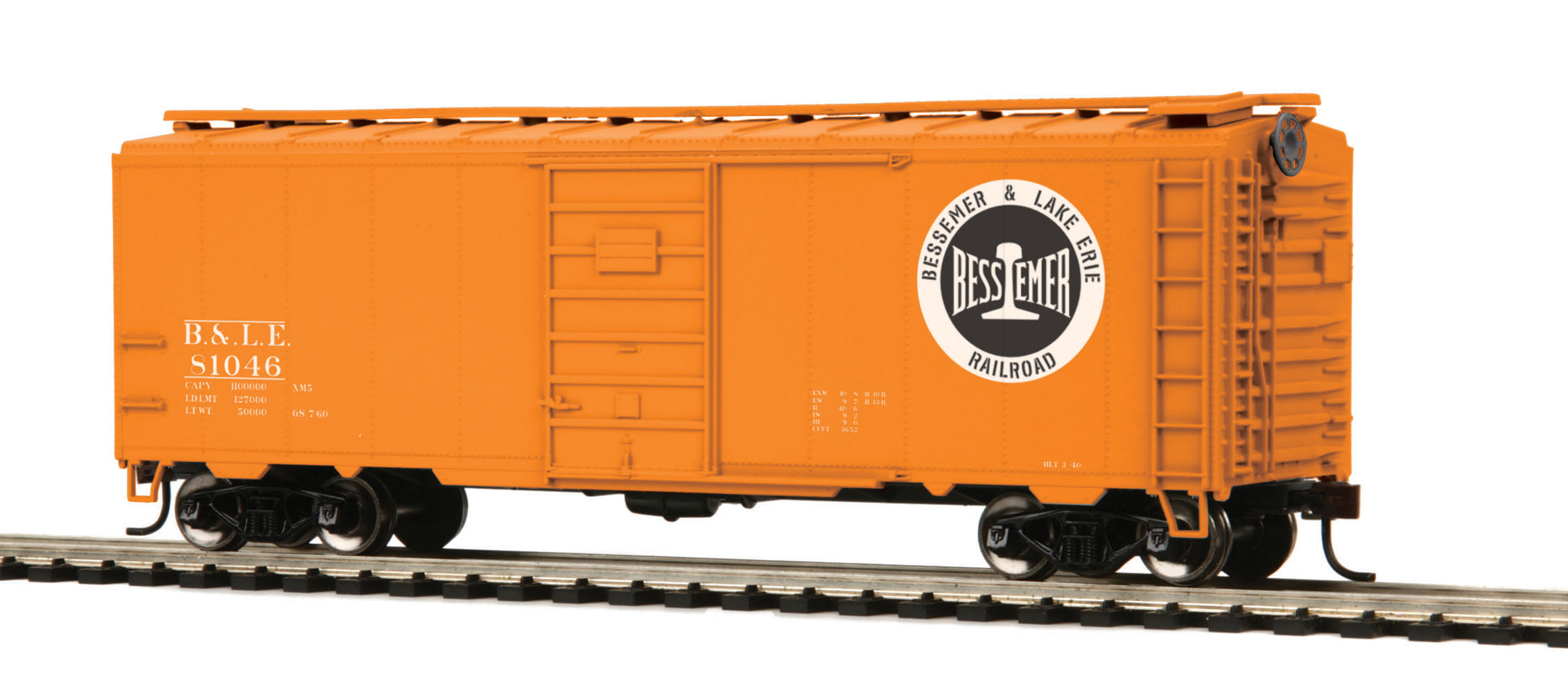 HO Scale MTH 85-74042 40' PS-1 Box Car #81046
