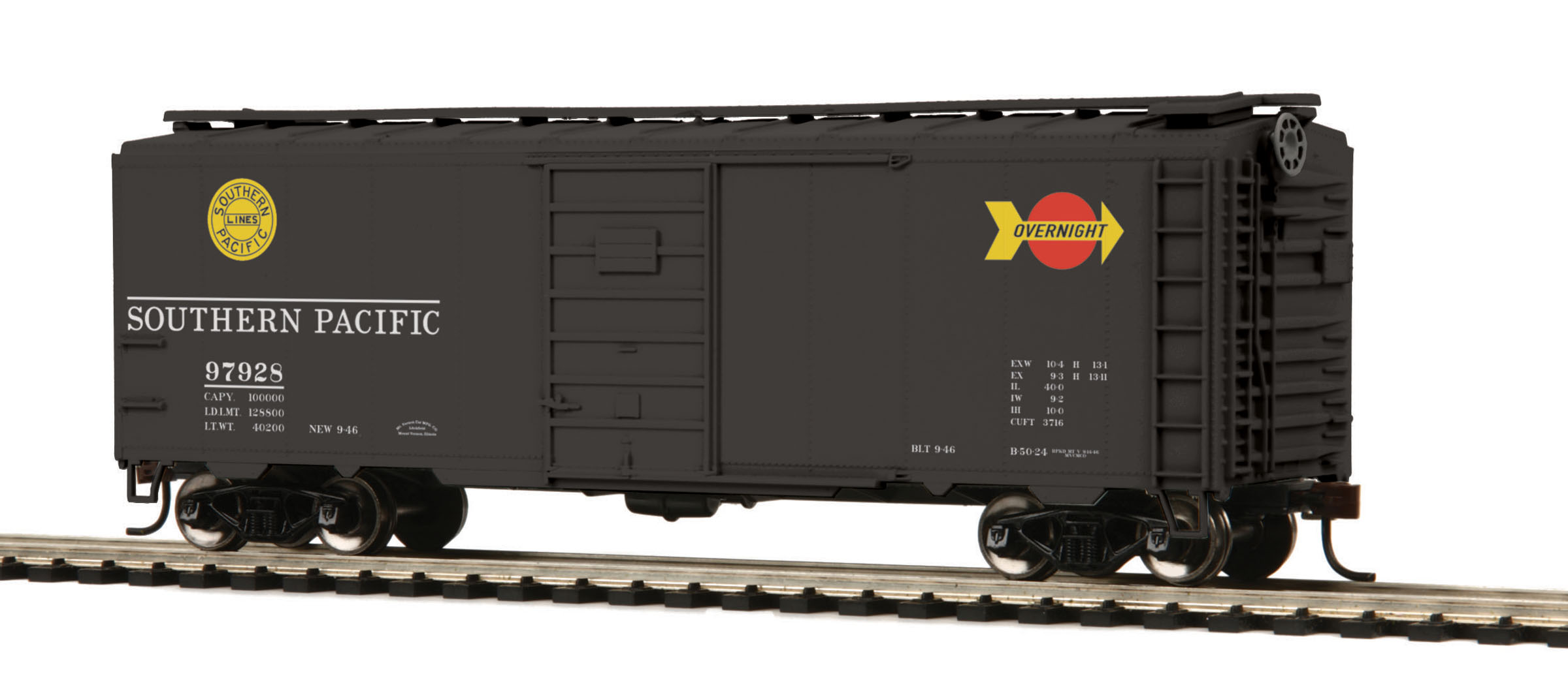 HO Scale MTH 85-74054 40' PS-1 Box Car #97828