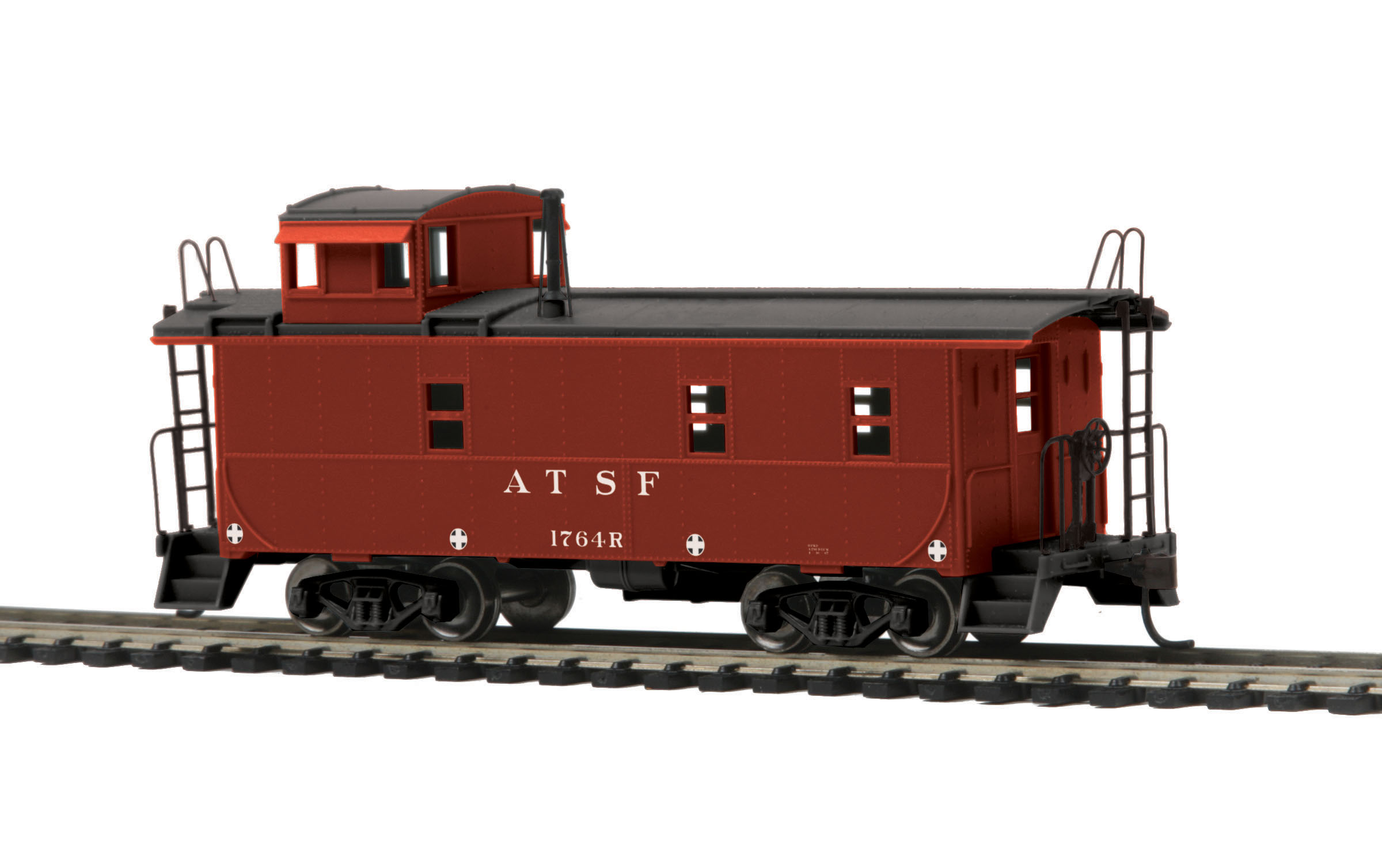 HO Scale MTH 85-77008 Steel Caboose #1764R