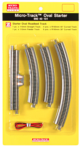 MICRO-TRAINS LINE 99040101 MICRO-TRACK OVAL STARTER SET (Z)