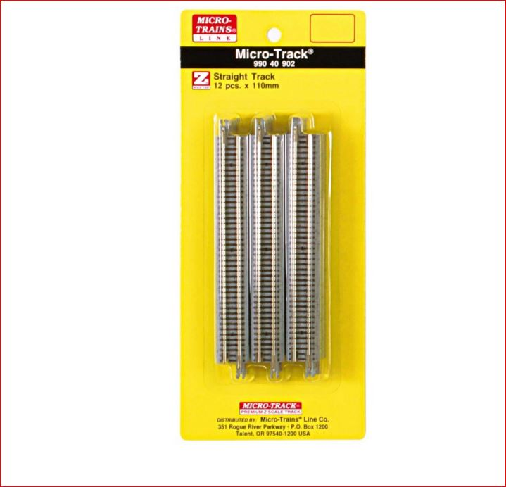 MICRO-TRAINS LINE 99040902 110mm STRAIGHT TRACK (Z)