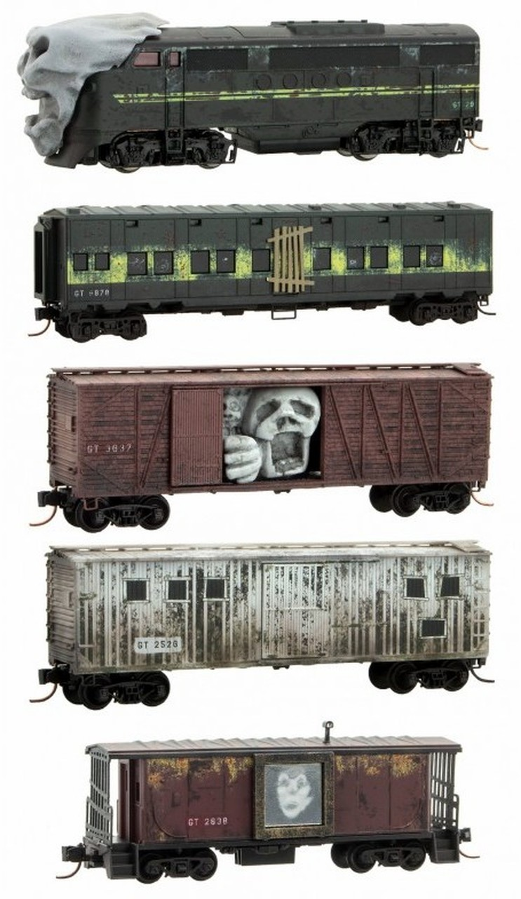MICRO-TRAINS LINE 99321300 HALLOWEEN GHOST TRAIN SET