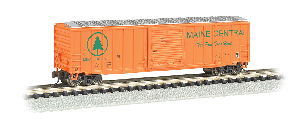 Maine Central - ACF 50.5' Outside Braced Box Car (N Scale)