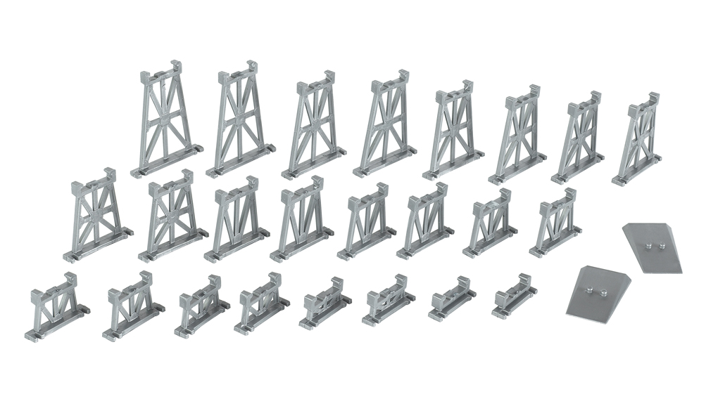 26 Piece Graduated Trestle Set (N Scale)