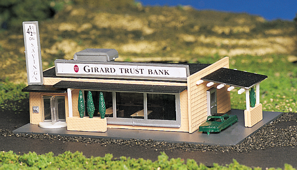 Drive-In Bank (N Scale)