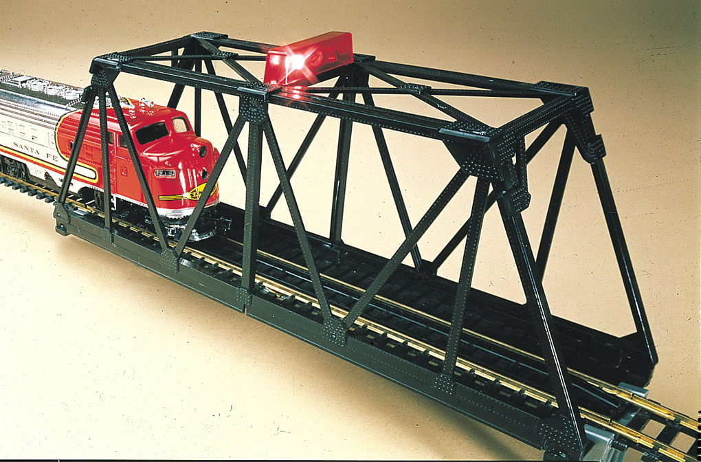 Blinking Bridge (N Scale)
