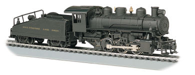 Baltimore & Ohio® - 2-6-2 Prairie & Tender