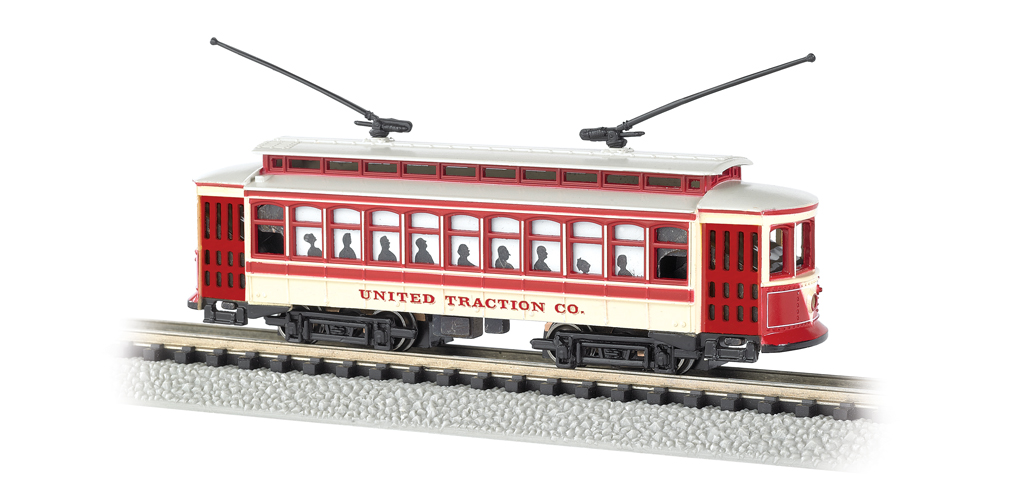 United Traction - Brill Trolley (N Scale)