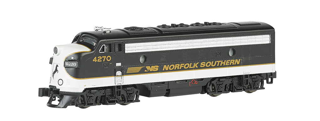 Norfolk Southern (black & gray) - F7A - DCC (N Scale)