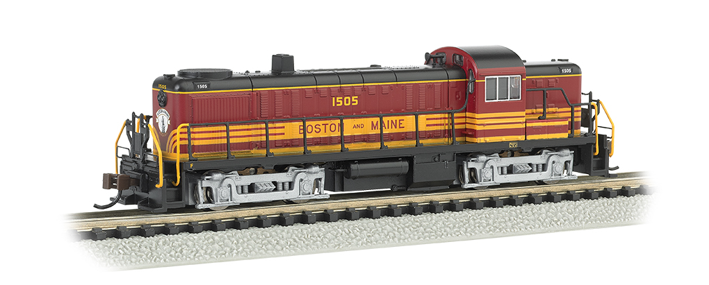 Boston & Maine #1505 - ALCO RS-3 - DCC (N Scale)