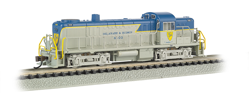 Delaware & Hudson #4103 - ALCO RS-3 - DCC (N Scale)