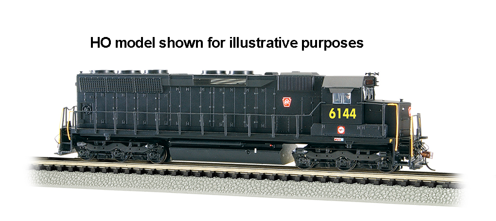 PRR #6144 - SD45 - DCC Sound Value (N Scale)