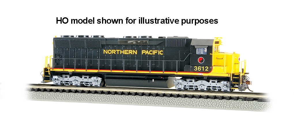 Northern Pacific #3612 - SD45 - DCC Sound Value (N Scale)